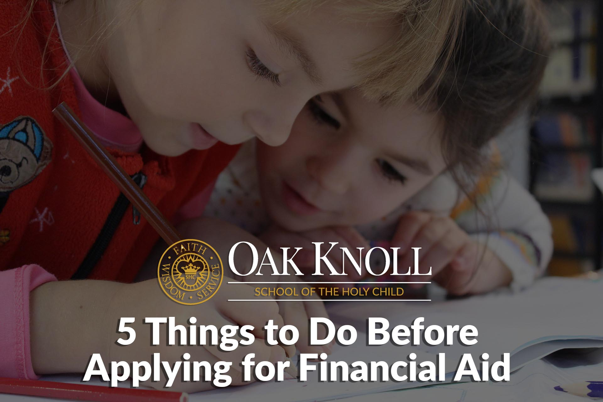 5 Things to Do Before Applying for Financial Aidpsd