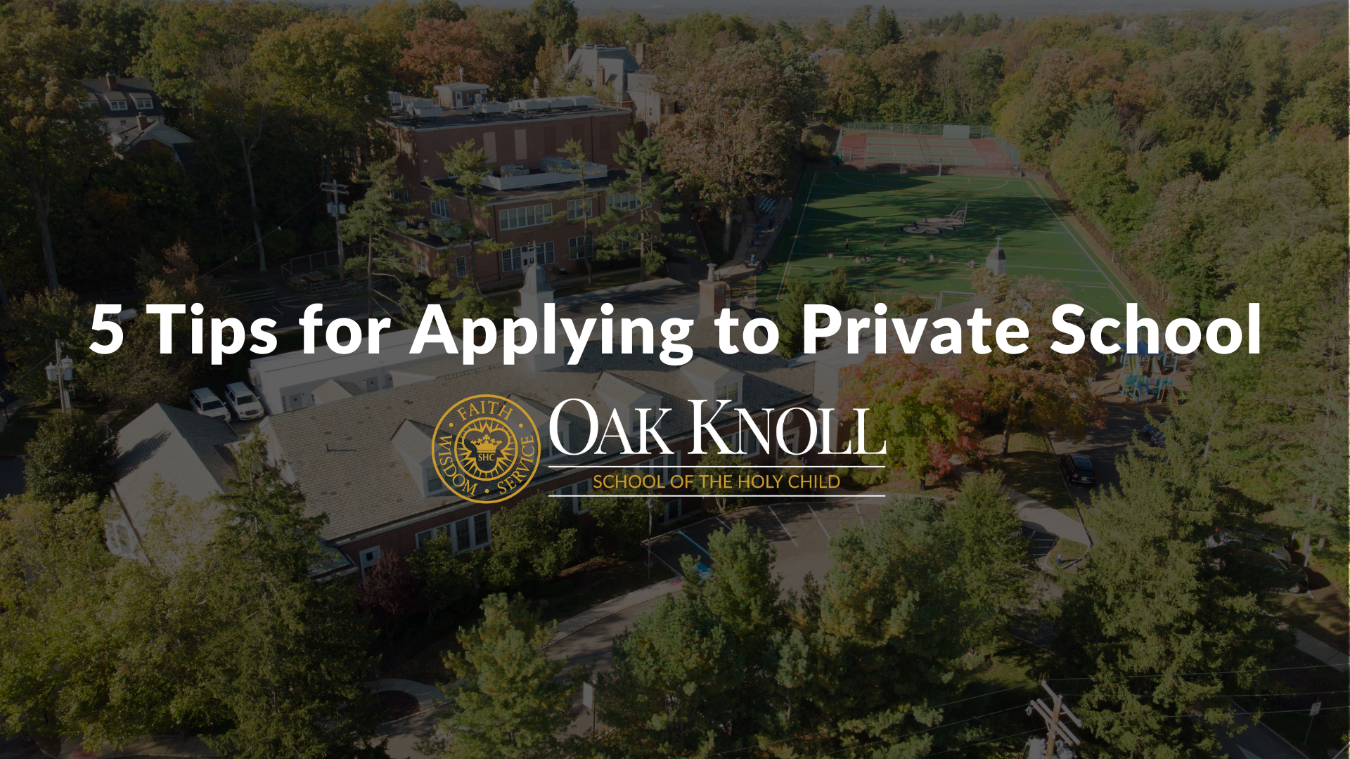 5 Tips for Applying to Private School