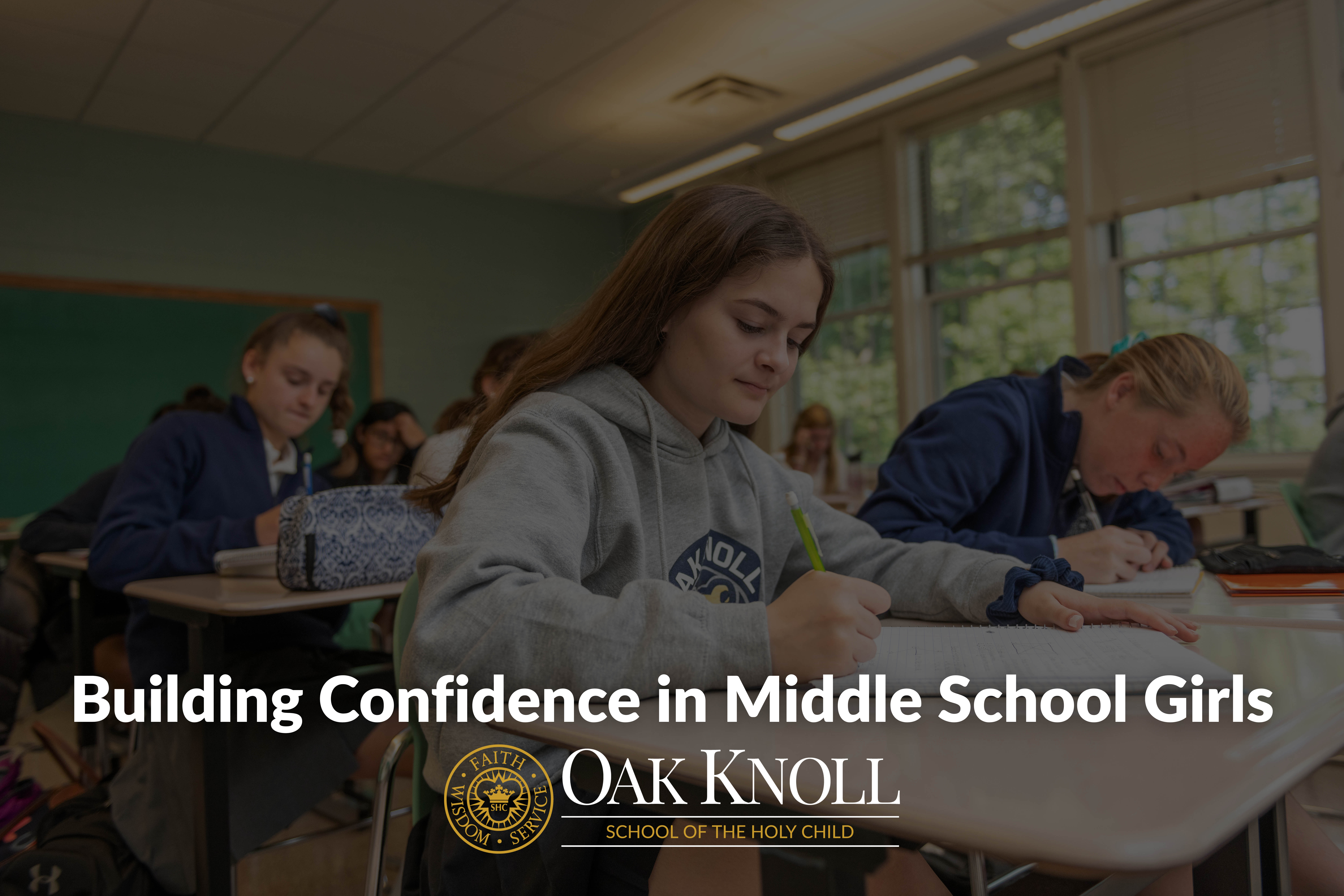 Building Confidence in Middle School Girls