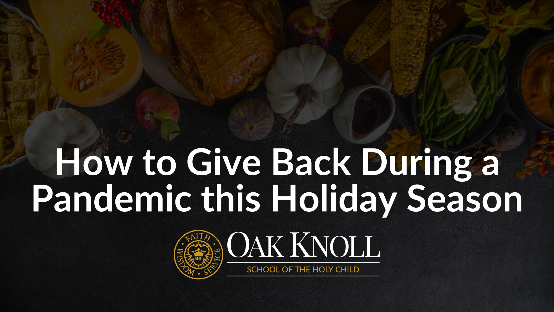 How to Give Back During a Pandemic this Holiday Season