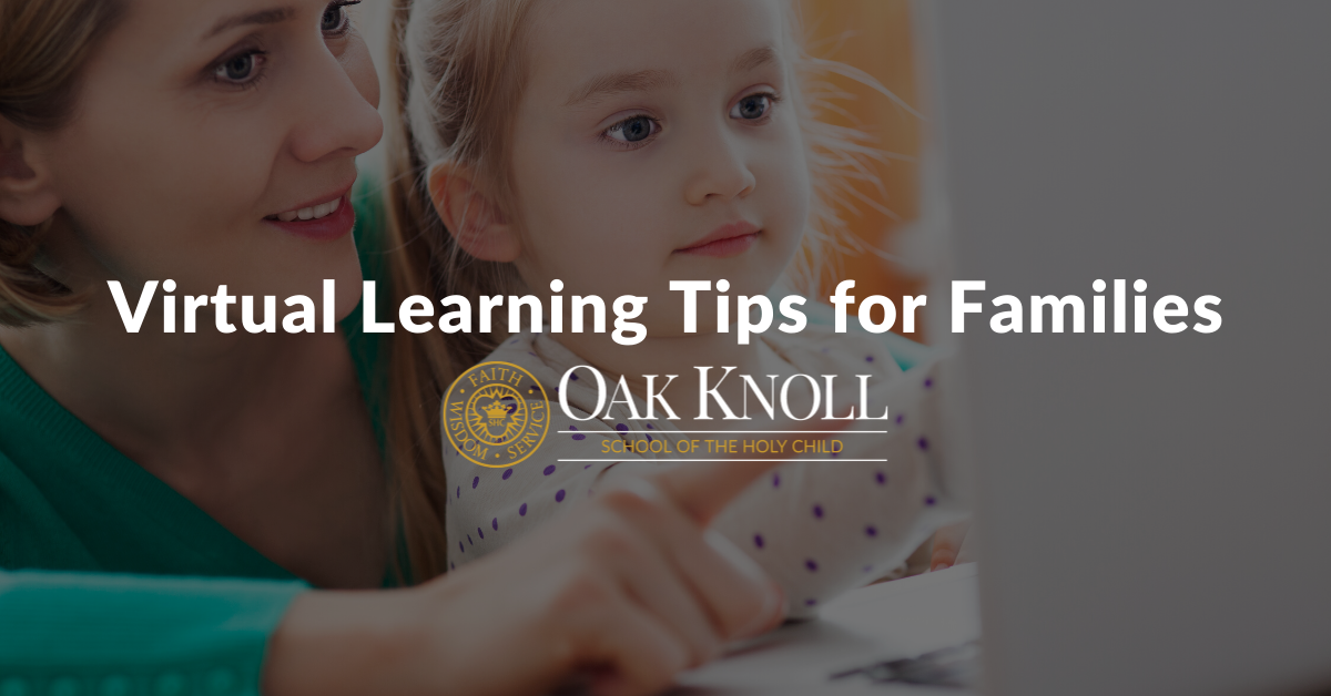 Virtual Learning Tips for Families